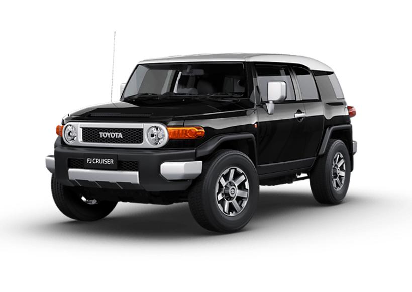 2017 Toyota Fj Cruiser Front